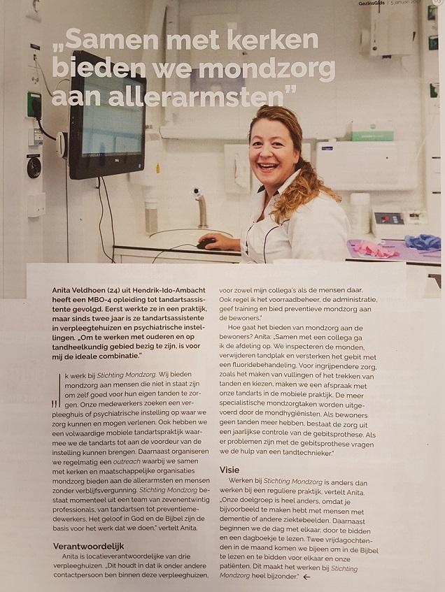 Artikel Anita @ Gezinsgids (Stichting Mondzorg) website formaat