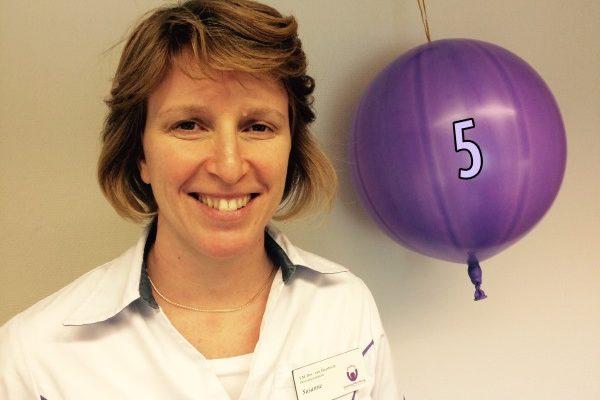 Suzanne 5 jaar bij Stichting Mondzorg - site