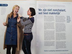 Willeke en Eveline in EO Visie - Stichting Mondzorg (site)