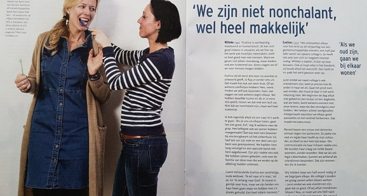 Willeke en Eveline in EO Visie - Stichting Mondzorg (site)