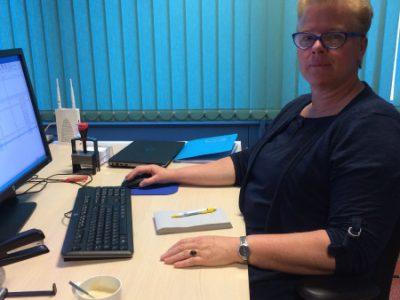 Eerste werkdag nieuwe werknemer Sophie